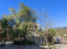 Altes Dorf Doganbey lizenzfreie stockbilder