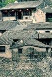 Altes Dorf im Berg. Lizenzfreies Stockbild