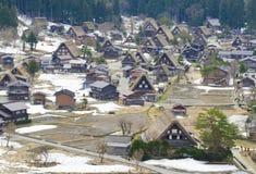 Altes Dorf in Japan lizenzfreies stockfoto