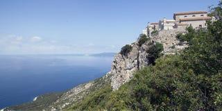 Altes Dorf in Kroatien Lizenzfreies Stockbild