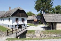 Altes Dorf Kumrovec Stockfotografie