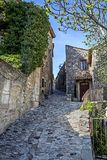 Altes Dorf in Provence Lizenzfreie Stockfotos