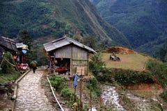 Altes Dorf, Vietnam Stockfotos