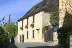 Altes Dorf von Heilig-Amand-von-Coly Lizenzfreies Stockbild