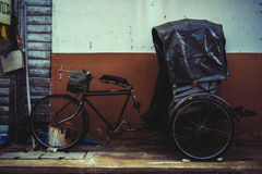 Altes Dreirad Thailands Stockfotografie