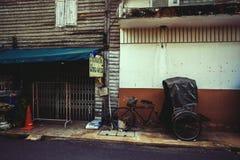 Altes Dreirad Thailands Lizenzfreie Stockfotos