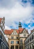 Altes Dresden Der alte Palast der Könige von Sachsen Stockfoto