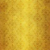 Altes dunkles gelbes Papier stock abbildung