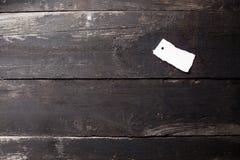 Altes, dunkles, rustikales Holz von der Spitze Stockfotos