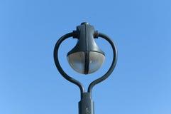 Altes einzelnes Beleuchtungspool Stockfoto