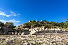 Altes Eleusis stockbilder