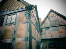 Altes englisches Haus Stockfotografie