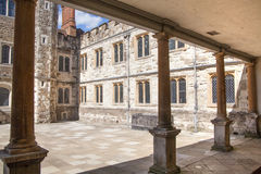 Altes englisches Villen15. jahrhundert Sevenoaks Klassisches englisches Landschaftshaus stockbild