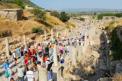 Altes Ephesus, die Türkei Lizenzfreies Stockbild