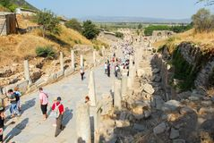 Altes Ephesus, die Türkei Lizenzfreie Stockfotos