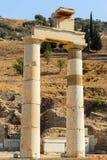 Altes Ephesus, die Türkei Stockfotos