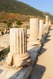 Altes Ephesus, die Türkei Stockfotografie
