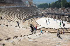 Altes Ephesus Theater Lizenzfreies Stockbild