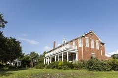 Altes Erbhölzerne Landhäuser in Apalachicola, USA Stockbilder