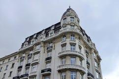 Altes erneuertes Gebäude in Sofia-Stadt Lizenzfreie Stockbilder