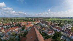 Altes europäisches Dorf Lizenzfreies Stockbild