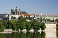 Altes Europa, Fluss Vltava, Reisenfoto stockfotos