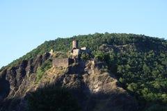 Altes Europa, Fluss Vltava, Reisenfoto Lizenzfreie Stockfotografie