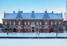Altes europäisches Gebäude Lizenzfreies Stockfoto