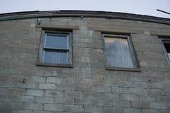 Altes Fabrikfenster 2 Stockbilder