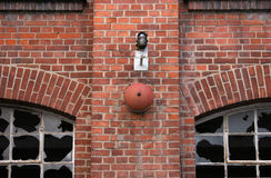 Altes Fabrikgebäude Stockfotos