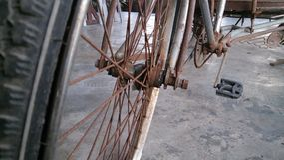 Altes Fahrrad 3 Lizenzfreies Stockbild