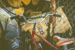 Altes Fahrrad Stockfoto