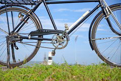 Altes Fahrrad, altes Fahrrad in Thailand Lizenzfreies Stockfoto