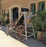 Altes Fahrrad antiken stockfotografie