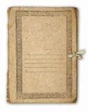 Altes Faltblatt Lizenzfreies Stockbild