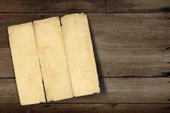Altes Faltenpapier Stockbilder