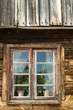 Altes Fenster Lizenzfreie Stockfotos
