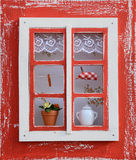 Altes Fenster Stockbild