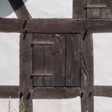 Altes Fenster geschlossen Lizenzfreies Stockfoto