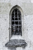 Altes Fenster im Schloss Lizenzfreie Stockfotos