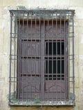 Altes Fenster, Mezquita, Cordoba Lizenzfreie Stockfotos