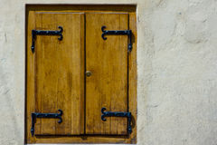 Altes Fensterdetail Lizenzfreies Stockfoto