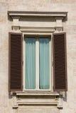 Altes Fensterdetail Lizenzfreies Stockbild