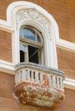 Altes Fensterdetail lizenzfreie stockbilder