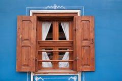Altes Fensterfeld lizenzfreies stockbild