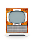 Altes Fernsehen Lizenzfreies Stockbild