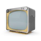 Altes Fernsehen Lizenzfreie Stockfotos