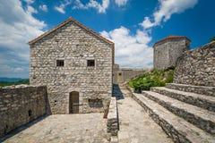 Altes Festung Bedem-Gericht Stockfoto