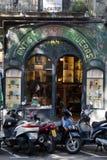 Altes Figueras Haus Rambla Barcelona Spanien Lizenzfreie Stockfotografie