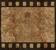Altes Filmnegativ-Feld - Grunge Hintergrund lizenzfreie abbildung